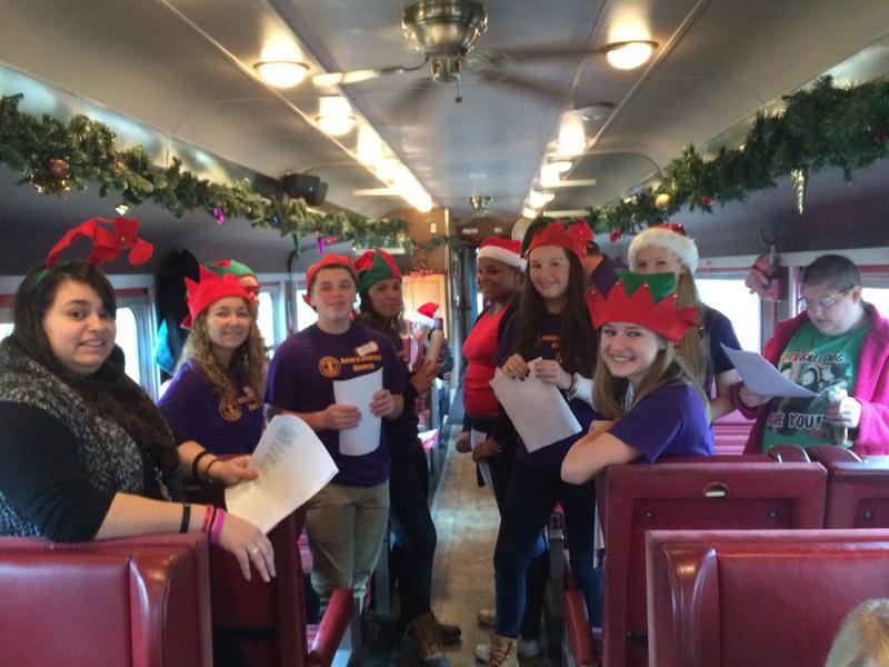 Geneva Rotary Santa Train